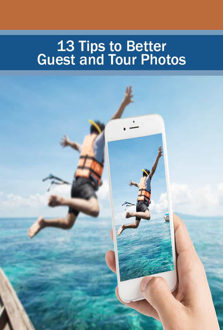pinterest - 13 tips to better guest and tour photos