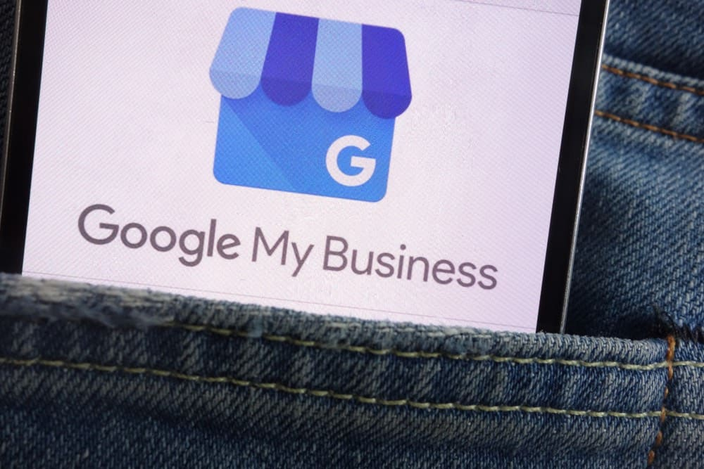 photo of google my business logo and how to capitalizing on improving your profile