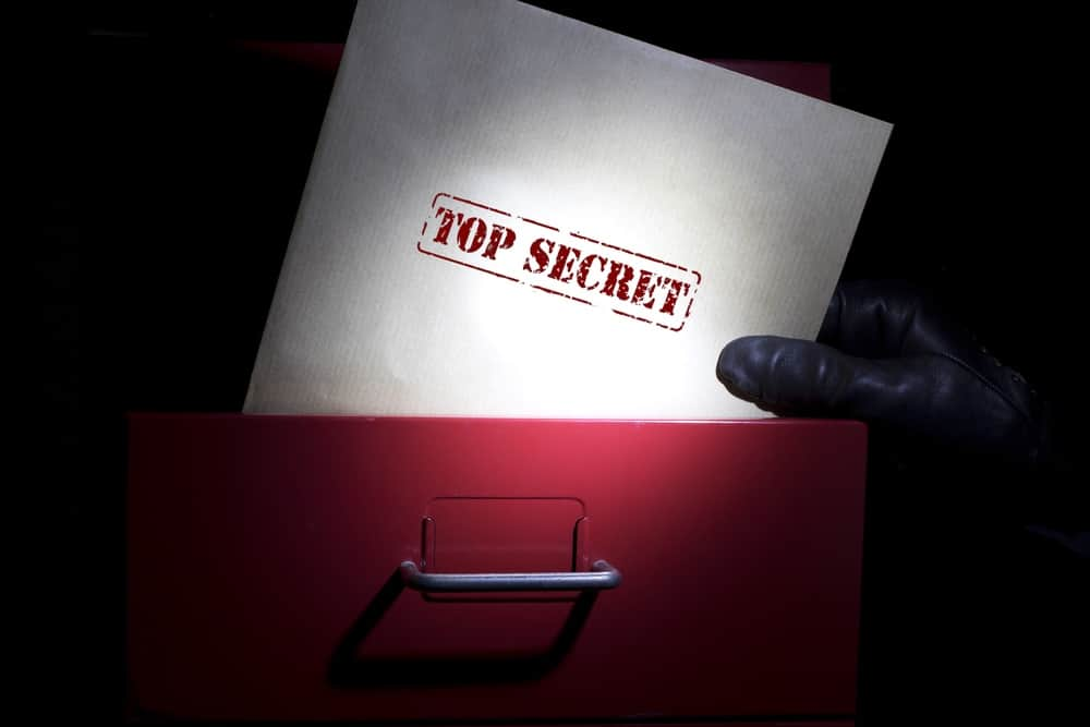 Image of top secret - something that can benefit your brand in a big way