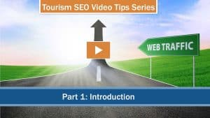 tourism SEO - showing an image how it grows web traffic