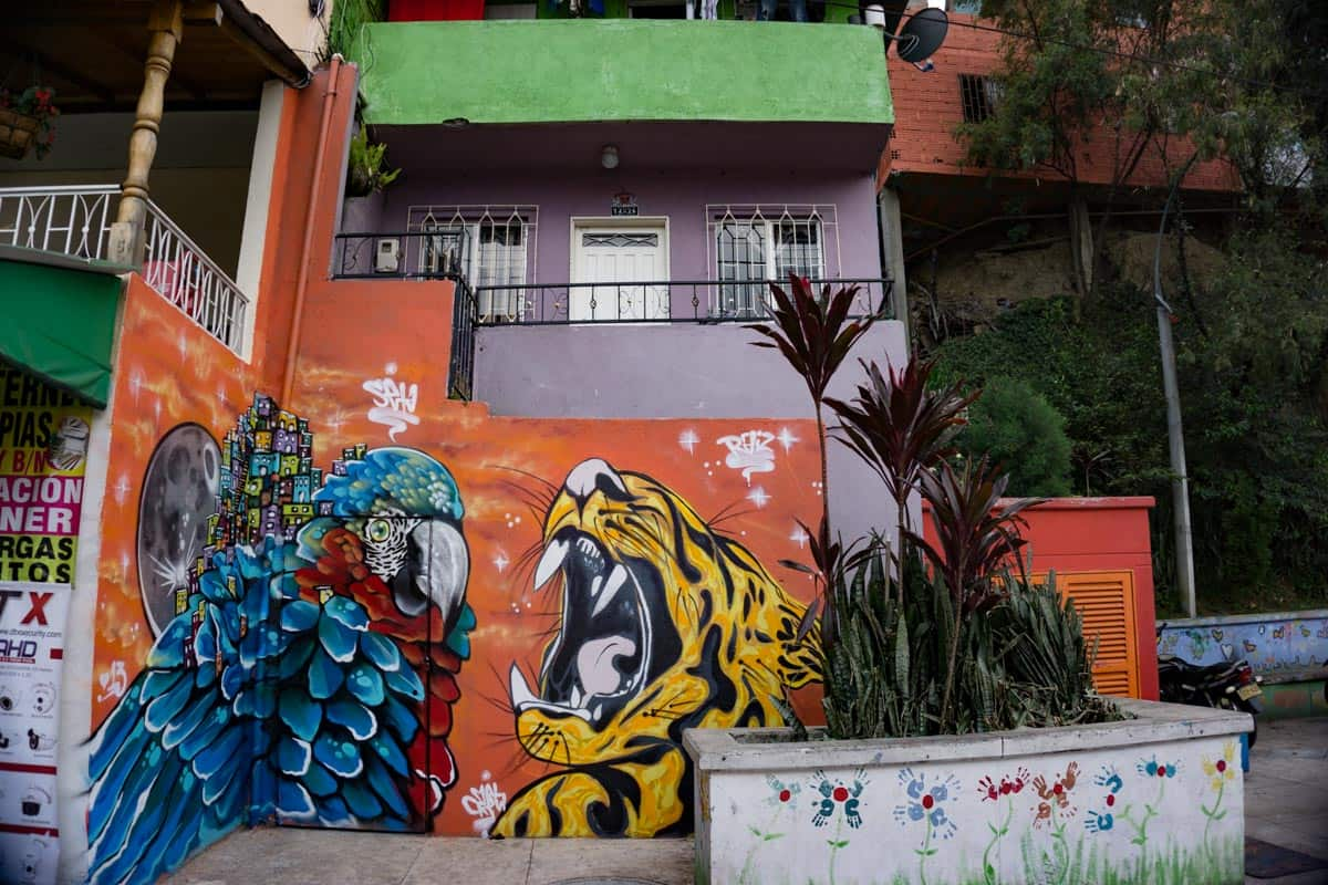 Graffiti tour in Medellin