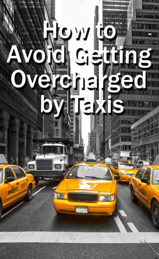 avoid getting overcharged