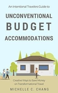 Gift of saving money on accomodations books as a sustainable gift ideas for travelers