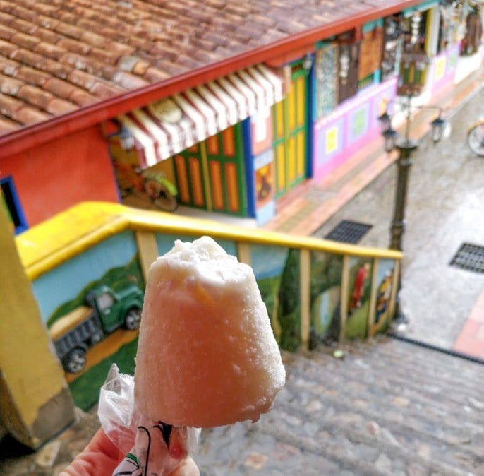 where to eat in guatape - picture of the best icecream