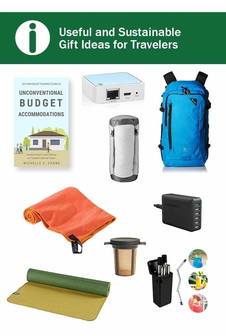 Useful and sustainable gift ideas for travelers