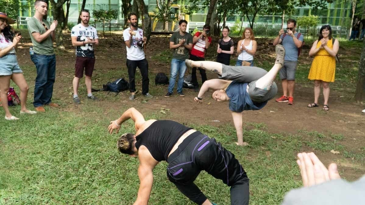 life in colombia - Capoeira workshop