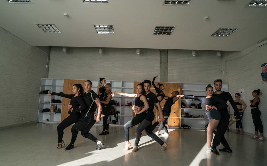 The dancers of Union Latina - life in Colombia