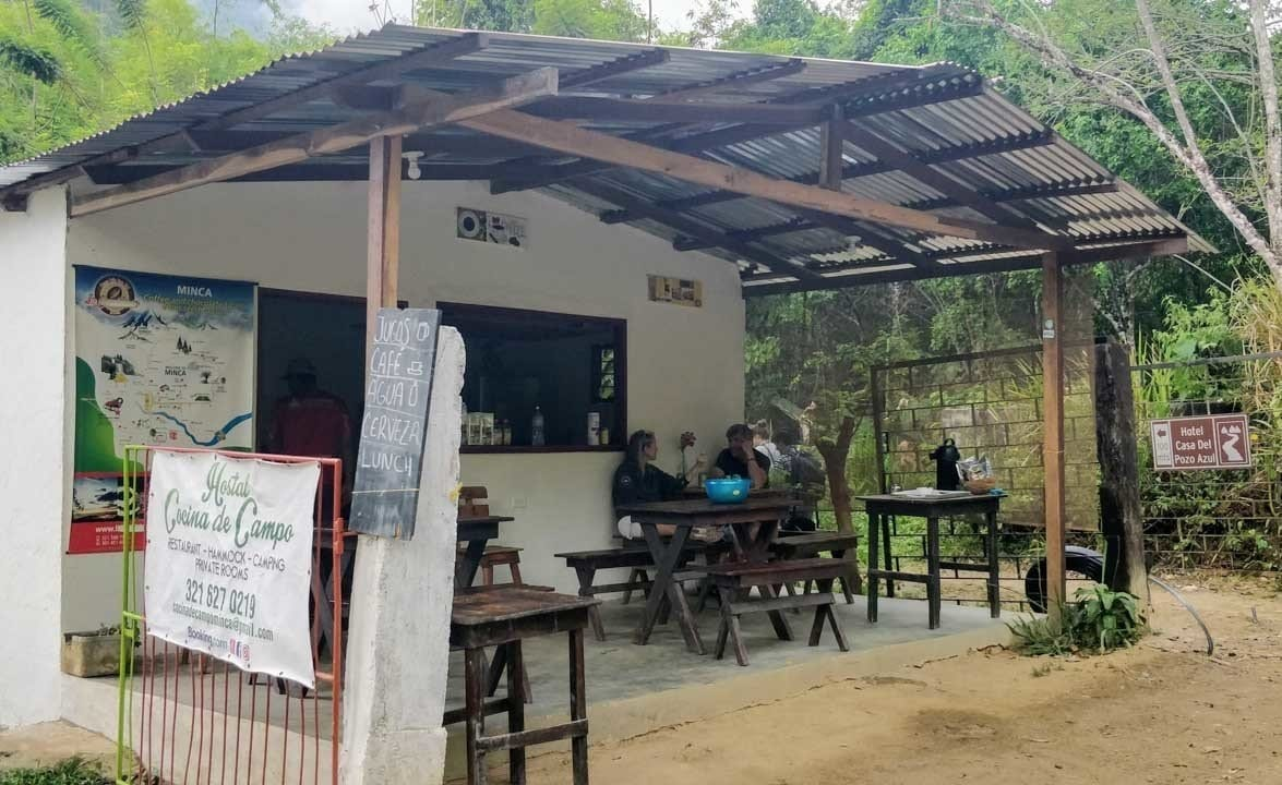 where to eat in Minca Magdalena