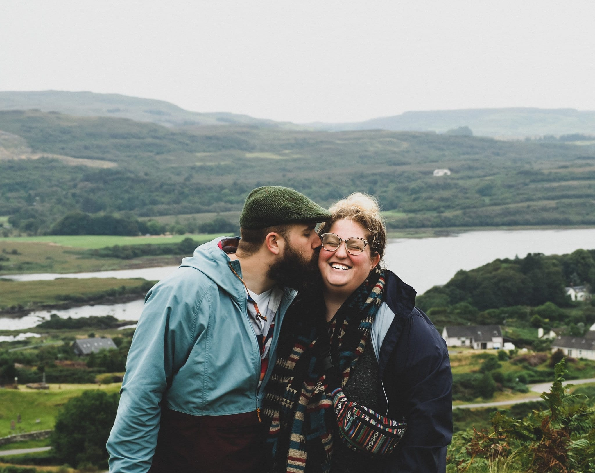 plus size travel - Couple traveling in Scotland